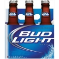 BUD LIGHT 6PK BOTTLE