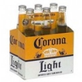 CORONA LIGHT 6PACK BOTTLE