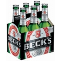 BECKS 12 oz. 0 6 Pack Bottles