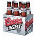 COORS LIGHT 6PK BTL