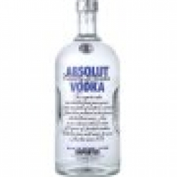 ABSOLUT SWEDISH 80 LITER